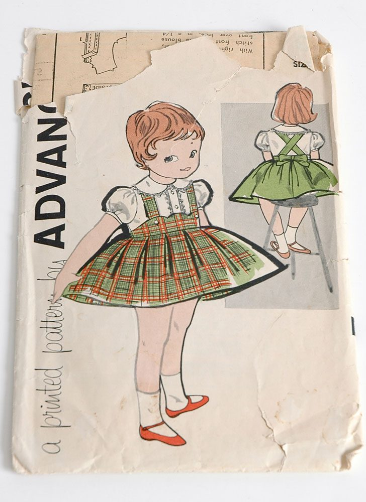 1960s Advance 9533 dress pattern