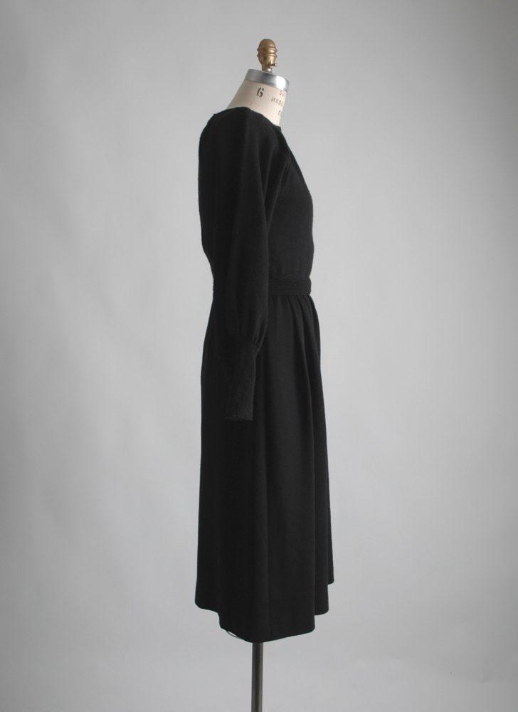 1980s-vintage-talbots-black-wool-dress